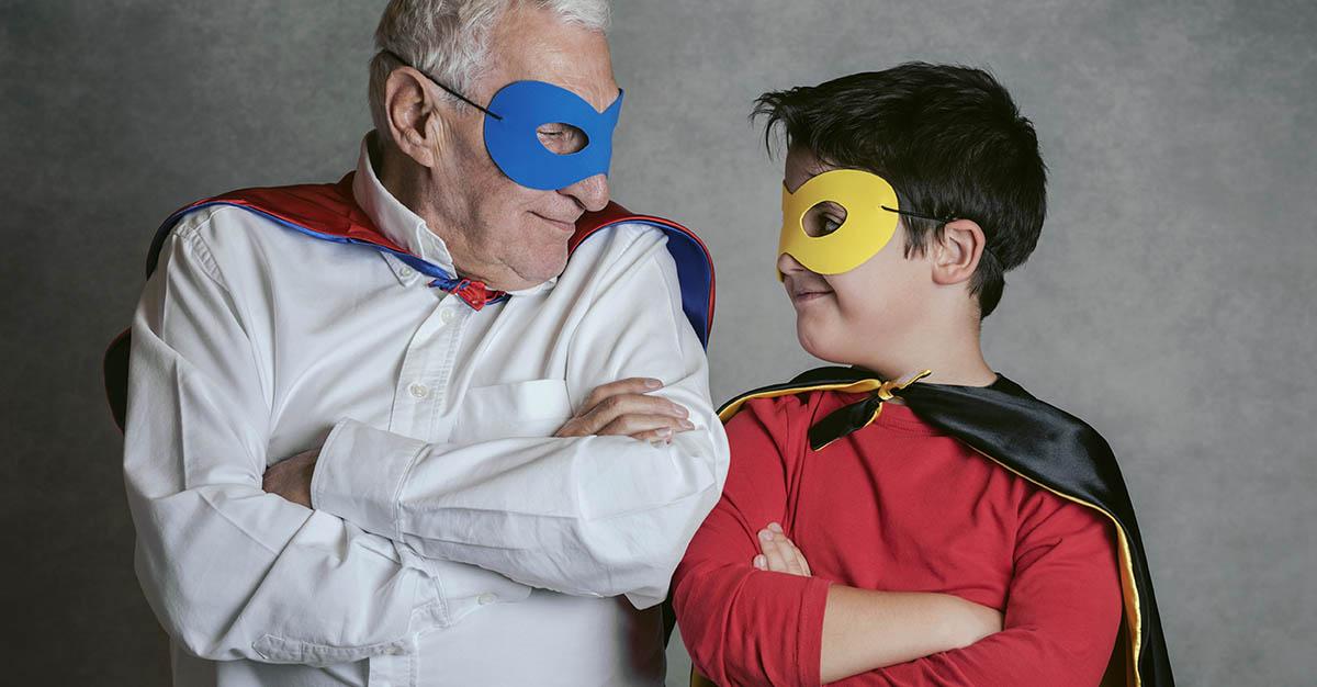 Simple Halloween Costumes for Seniors